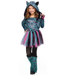neon cheetah big girls costume girls costumes kids halloween