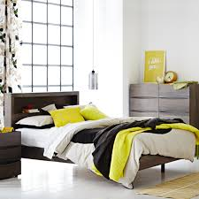 floating bed my design bed frame featured headboard u0026 floating base buy