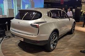 thunder power electric cars at the 2017 frankfurt motor show by