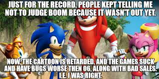 Sonic Boom Meme - sonic boom judgement by psyco the frog on deviantart