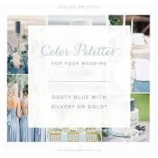 color palette dusty blue with gold or silver u2014 grace and
