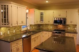 kitchen backsplash ideas white cabinets black countertops u2014 the