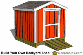 How To Build A Shed Design by 8x8 Storage Shed Plans Easy To Build Designs How To Build A Shed