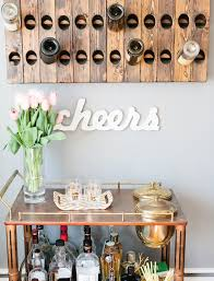 reclaimed wood home decor projects popsugar home