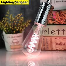 soft pink light bulbs led light bulb st64 pink led l e27 vintage edison soft led
