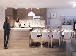 kitchen island as table concrete countertops kitchen island with table lighting flooring