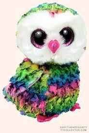 owen medium ty beanie boo owl