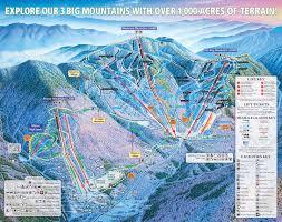 Snow Depth Map New England by Smugglers U0027 Notch Resort Snow Report Onthesnow