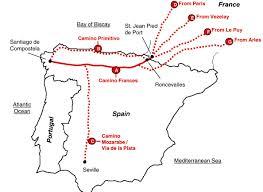 Pamplona Spain Map by Maps U0026 Paths Camino De Santiago Guide