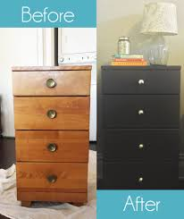 diy painted dresser create space organizing