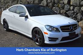 mercedes herb chambers used 2014 mercedes c class for sale in burlington near boston