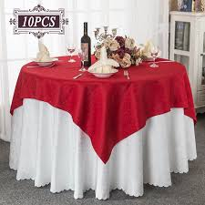 Oval Table Covers Outdoor Furniture by Aliexpress Com Buy Wholesale 10pc Round Crochet Tablecloth