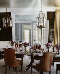 Gold Dining Room by Dining Room Lacquered Dark Brown Walls W Gold Vine Painted On