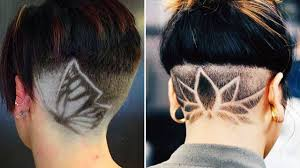 nape of neck hair cut for women new haircut trends 2018 30 women s haircuts with back undercut