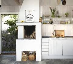 Swedish Kitchen Design by Kitchen Scandinavian Kitchen Cabinet With Traditional Fireplace