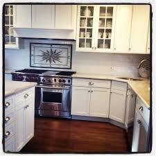 Kitchen Range Backsplash My Dream Kitchen Is Complete Quartzite Countertop Wolf Range