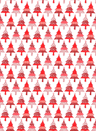 Stocking Designs by Red U0026 White Christmas Printables Red Fabric Christmas Wrapping
