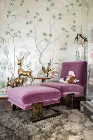 Lucite Rocking Chair A Modern Glam Nursery Makeover Emily Henderson