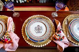 tory burch dinnerware tory burch bohemian chic table setting beautifully seaside