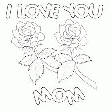 happy birthday mom coloring pages getcoloringpages with color