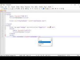 membuat web sederhana dengan javascript cara membuat kalender dengan html css dan javascript bagian 1 youtube