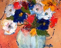 still life artists international abstract still life flower art