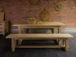 Rustic Farmhouse Dining Table With Bench Rustic Kitchen Table With Bench Aloin Info Aloin Info