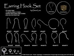 earing hook second marketplace earring hook set