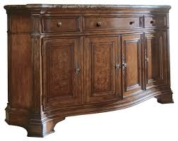 Marble Sideboards Villa Cortina Storage Credenza W Marble Top Traditional