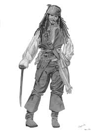 captain jack sparrow by elodie50a on deviantart