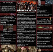 map of the dead you asked for it mob of the dead reference guide i ve been