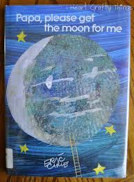 eric carle inspired moon art touch and feel textured moon i
