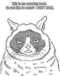 grumpy cat coloring book isbn 9780486791630