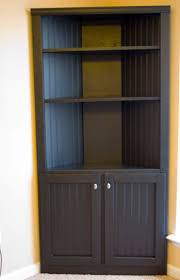built in corner bookcase home design ideas
