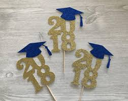 graduation centerpiece ideas graduation cupcakes etsy