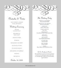 wedding program card stock 14 best menu program cards images on wedding program