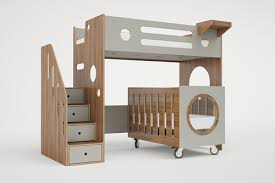 Bunk Bed Cribs Marino Bunk Bed Crib Casa