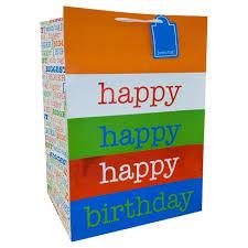 big gift bags happy birthday gift bag spritz target