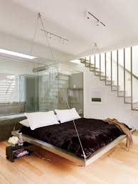 bachelor pads masculine decor home design suspended bed