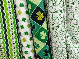 bolts of st patrick u0027s day fabric free stock photo public domain