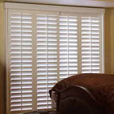 Shutters For Doors Interior Plantation Shutters For Sliding Glass Doors Lowes Patio Bypass Vs