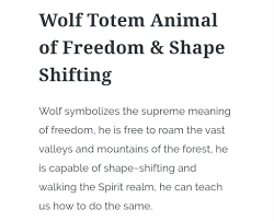 symbolizes meaning owc day 6 wolf pagans u0026 witches amino