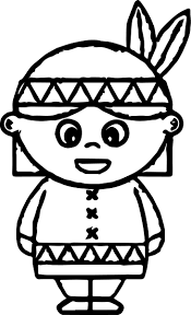 indian coloring page exprimartdesign com
