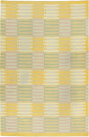 Yellow Flat Weave Rug This Circa 1950 Vintage Swedish Flatweave Rug By Carl Malmsten