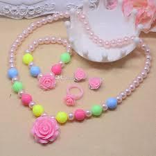 baby girl rings images Lovely baby girl 39 s imitation pearls beads jewelry rose flower jpg
