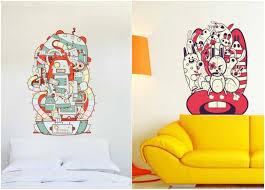 wandtattoos jugendzimmer coole wandtattoos jugendzimmer abstrakt graffiti look