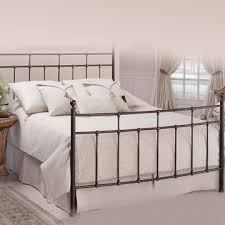Metallic Bed Frame China Powder Coated Metal Bed Frame With Wooden Slat Made Of Iron