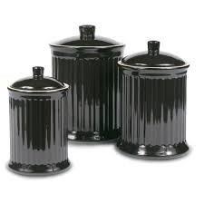 black kitchen canisters kitchen canister sets for kitchen counter with kitchen jars and