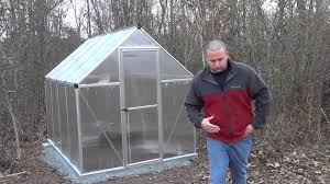 Palram Polycarbonate Greenhouse Palram Mythos Greenhouse Review Youtube