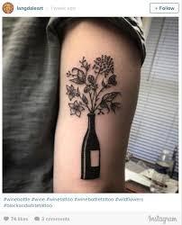 the 25 best wine tattoo ideas on pinterest wine glass tattoos